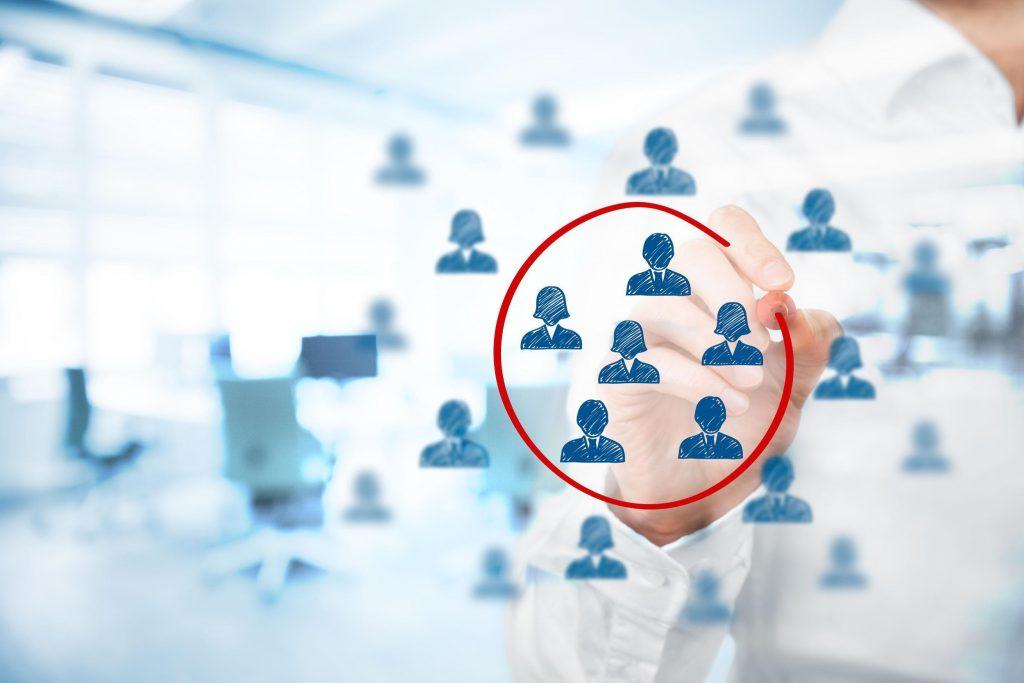 target market identification concept