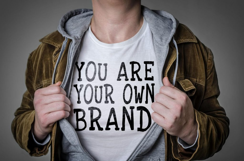 you are your own brand concept