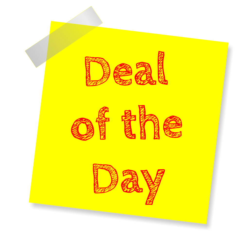 deal of the day - concept