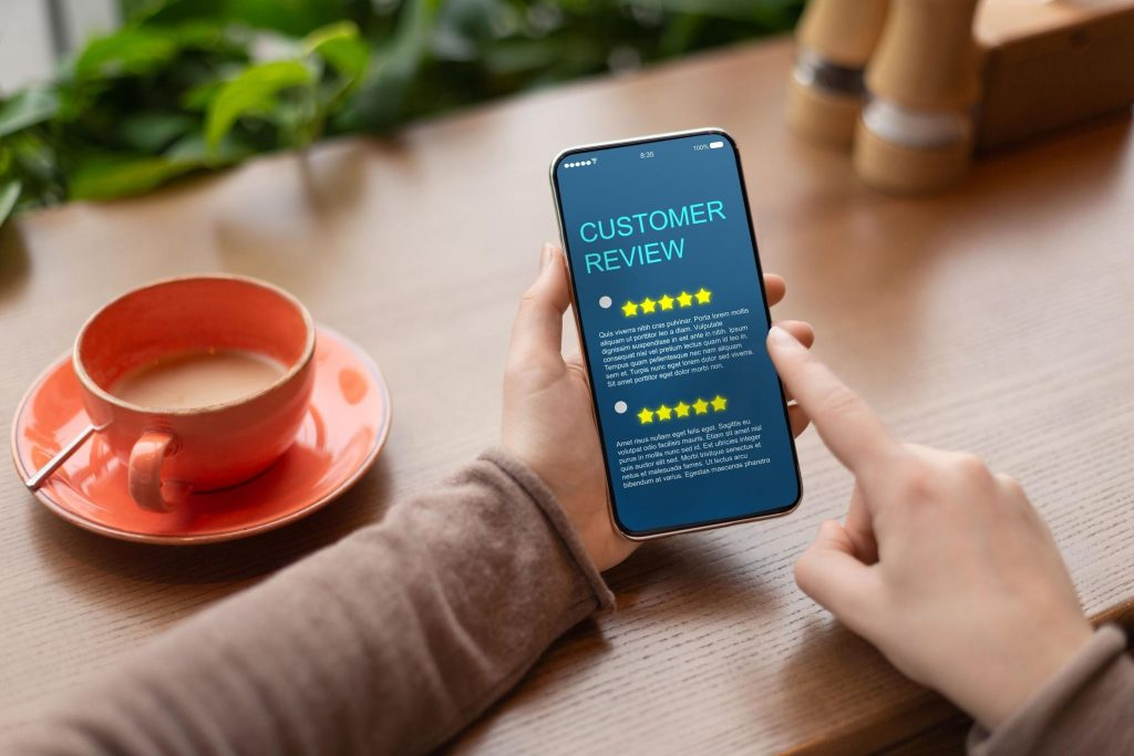 customer review concept