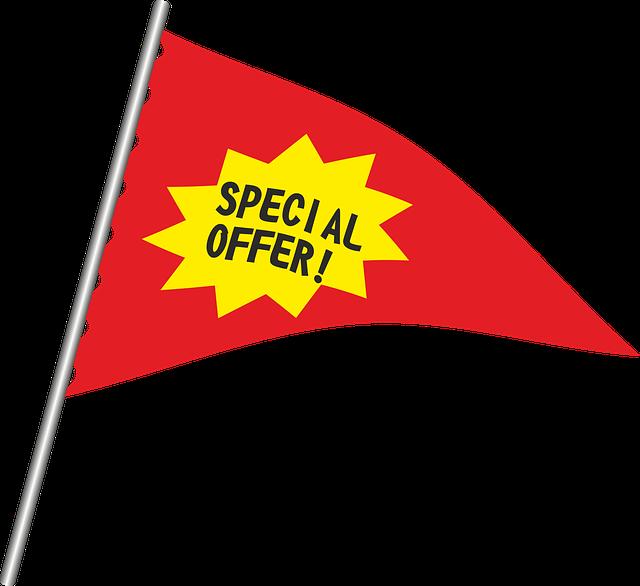 special offer flag