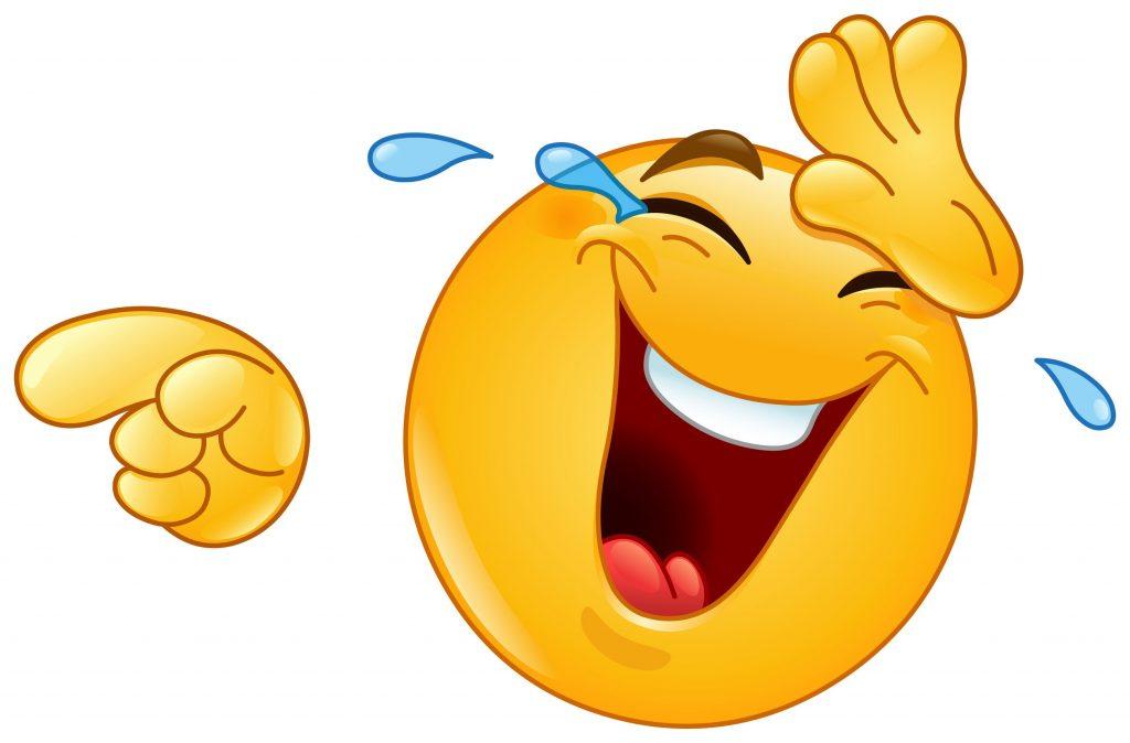 emoji fun laughing