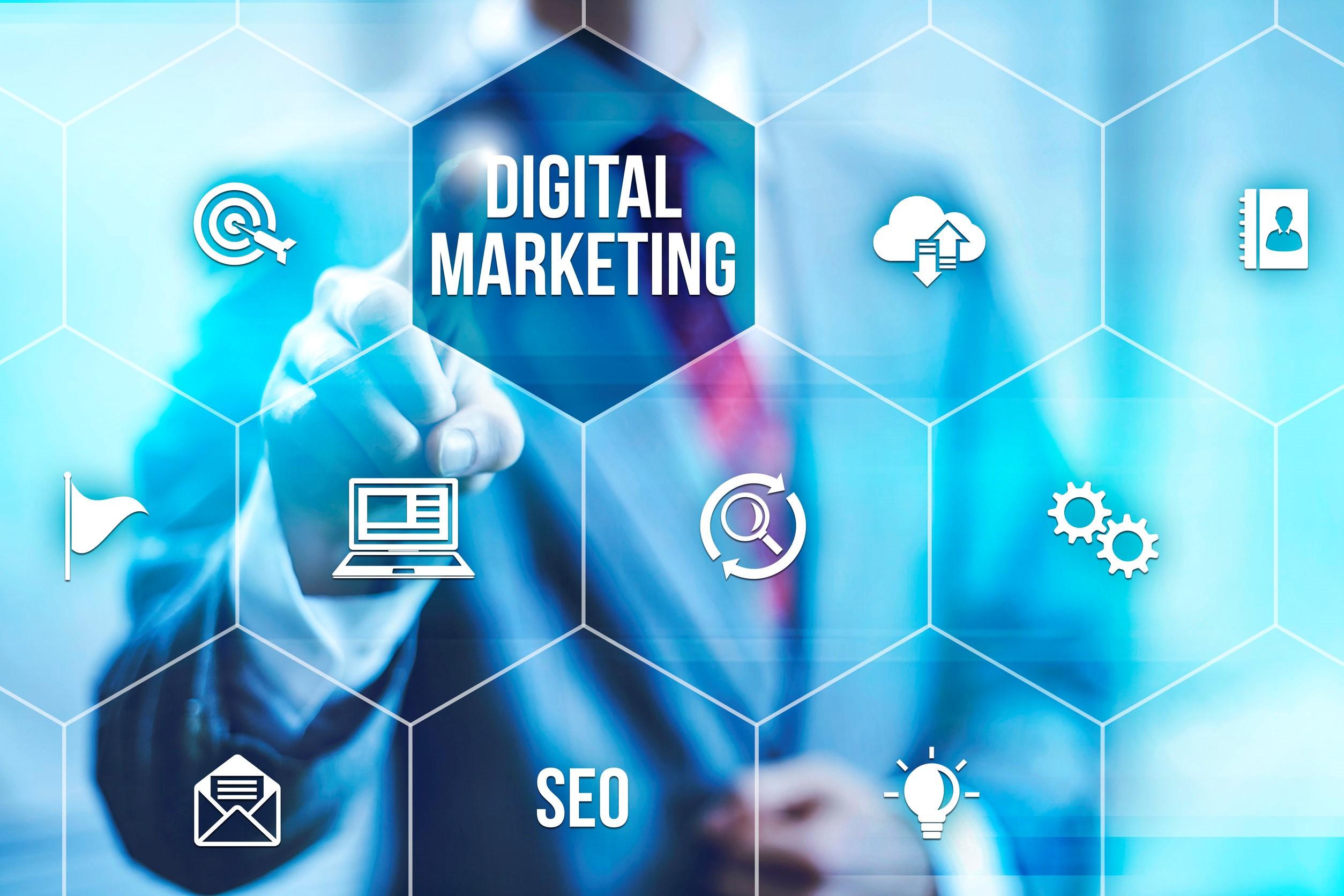 digital marketing - concept
