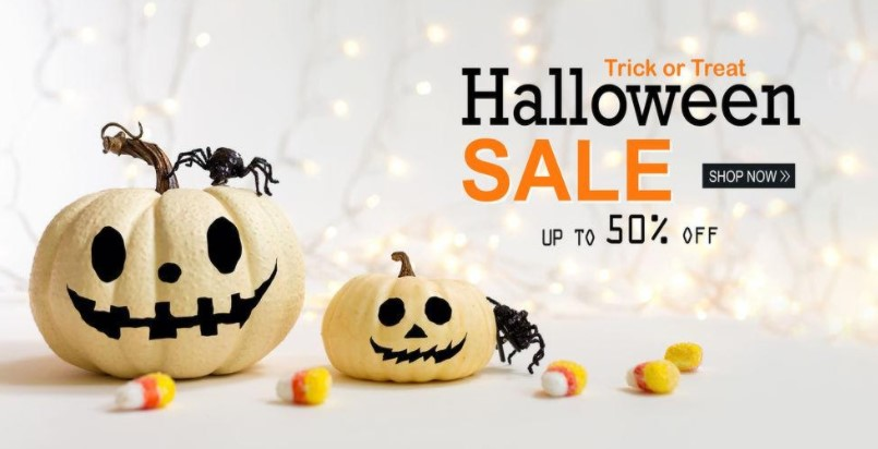 Halloween sale - concept