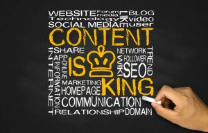 content is king concept concept