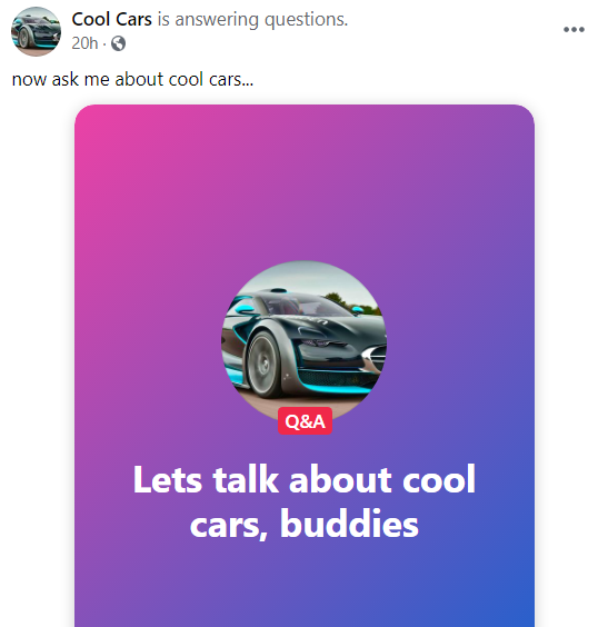 Host Q & A Sessions Right From Your Page